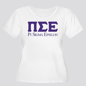 Pi Sigma Epsi Women's Plus Size Scoop Neck T-Shirt